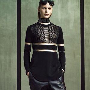 Alexander Wang x H&M Black Sporty Tunic Sz S